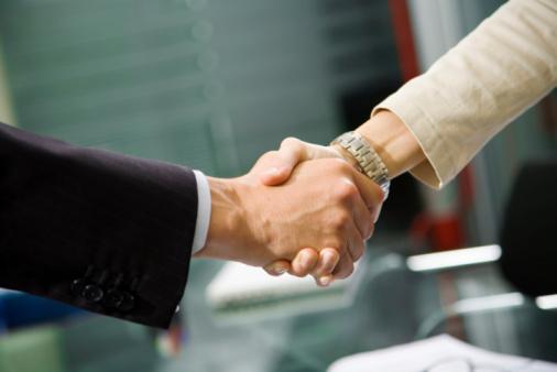 Sourcing Handshake